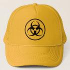 Boné do símbolo do Biohazard