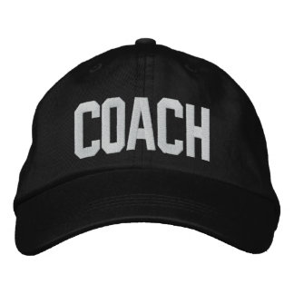 Boné do treinador