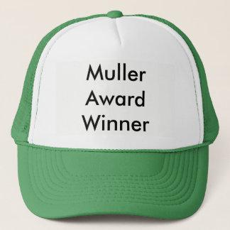 Boné do vencedor do prêmio do Muller