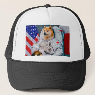 Boné Doge cão-bonito do astronauta-doge-shibe-doge do