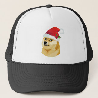Boné Doge do Natal - doge do papai noel - cão do Natal