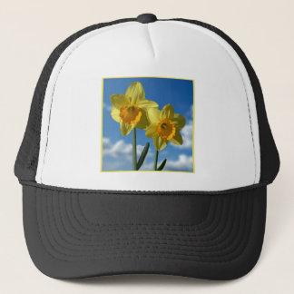Boné Dois Daffodils amarelos 2,2