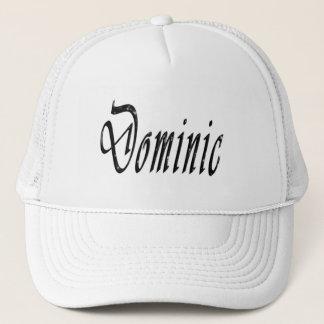 Boné Dominic, nome, logotipo,