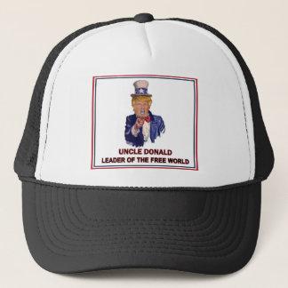 Boné Donald Trump/líder do tio Sam do mundo livre!