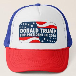 Boné Donald Trump para o presidente em 2016