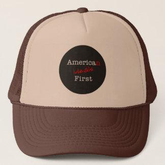 Boné dos camionistas dos ideais americanos