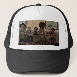 Boné Dos Fellers da noite chapéu para fora