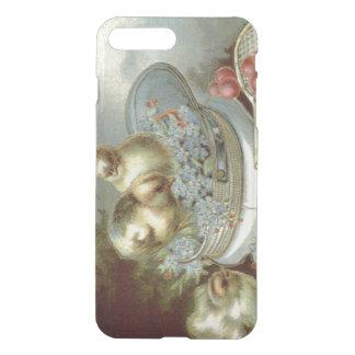 Boné dos miosótis do pintinho da páscoa capa iPhone 7 plus