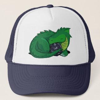 Boné Dragão D20 verde