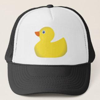 Boné Ducky de borracha amarelo