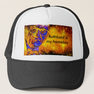 "Boné DWMND ""Rothbard é chapéu do camionista do meu"
