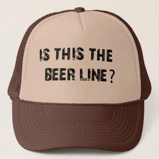 Boné É isto a linha da cerveja