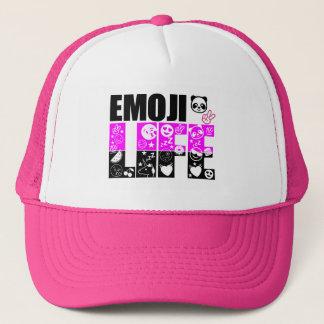 Boné É uma vida de Emoji