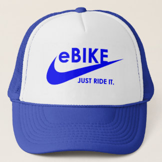 """Boné """"eBike - apenas monte-o"""" chapéus do ciclismo"""