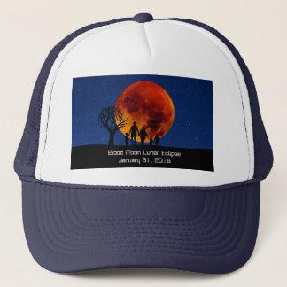 Boné Eclipse lunar 2018 da lua do sangue