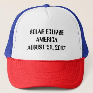 Boné Eclipse solar América camionista chapéu 21 de