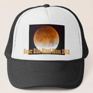 Boné Eclipse super 2018 da lua do sangue azul