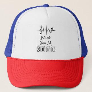 Boné Economias da música meu chapéu do camionista da