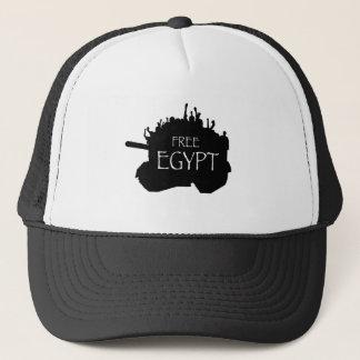 Boné Egipto livre com protestadores