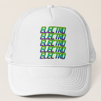 Boné ELECTRO electro electro música DJ