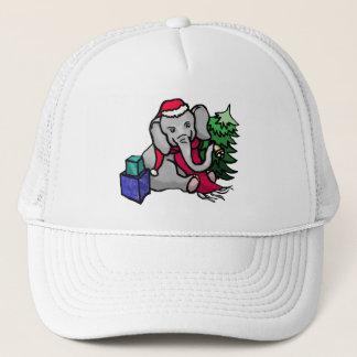 Boné Elefante doce do papai noel dos desenhos animados