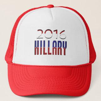 Boné Eleição Hillary Clinton 2016 da tipografia