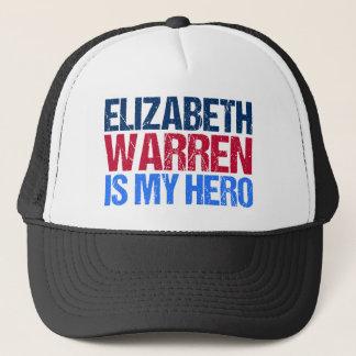 Boné Elizabeth Warren é meu herói