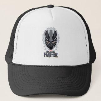 Boné Emblema da cabeça da pantera preta de pantera