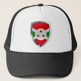 Boné Emblema de Burundi Mettalic