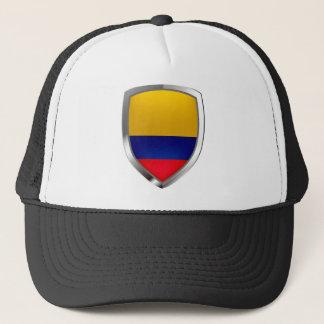 Boné Emblema de Colômbia Mettalic