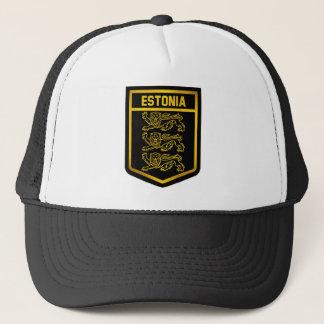 Boné Emblema de Estónia