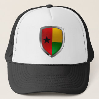 Boné Emblema de Guiné-Bissau Mettalic