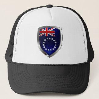 Boné Emblema de Mettalic das Ilhas Cook
