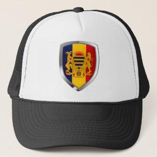 Boné Emblema de República do Tchad Mettalic