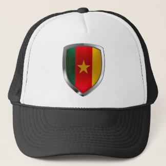 Boné Emblema de República dos Camarões Mettalic