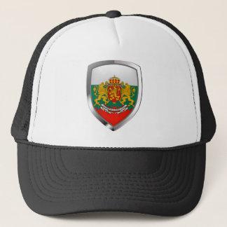 Boné Emblema metálico de Bulgária