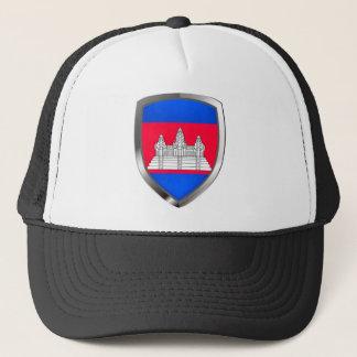 Boné Emblema metálico de Cambodia
