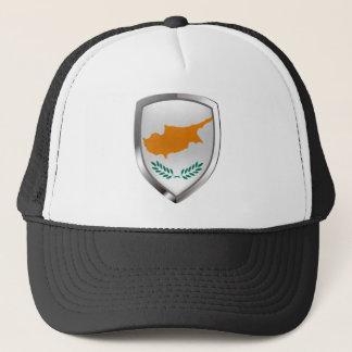 Boné Emblema metálico de Chipre