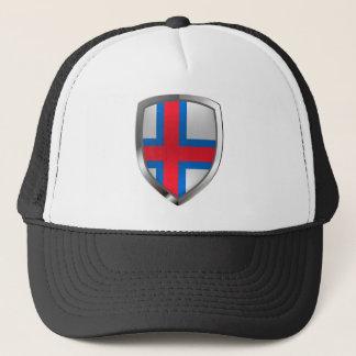 Boné Emblema metálico de Faroe Island