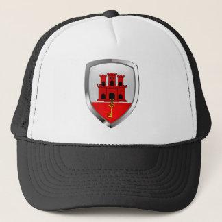 Boné Emblema metálico de Gibraltar