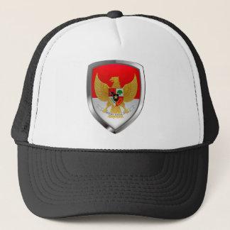 Boné Emblema metálico de Indonésia