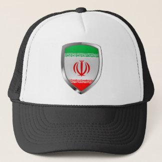 Boné Emblema metálico de Irã