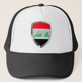 Boné Emblema metálico de Iraque