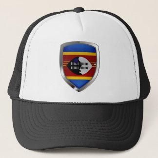 Boné Emblema metálico de Suazilândia