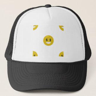 Boné emoji do olho do dinheiro