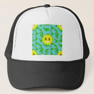 Boné emoji eyed dinheiro