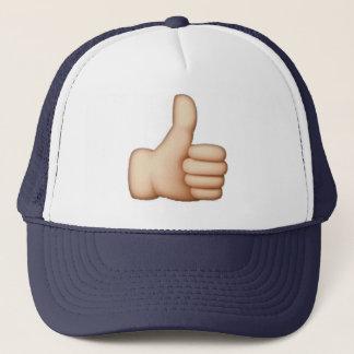 Boné Emoji - polegares acima