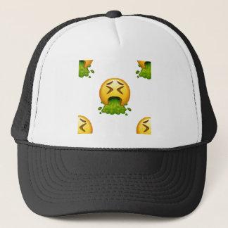 Boné emoji que puking