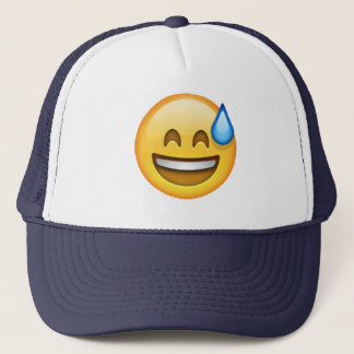 Boné Emoji - suor frio