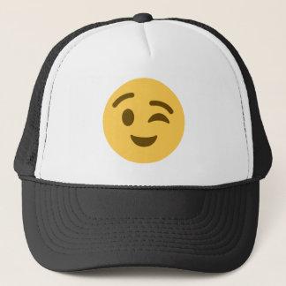 Boné Emoji Wink